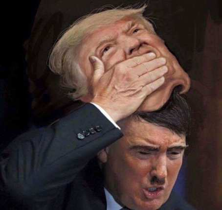 Image result for hitler and trump
